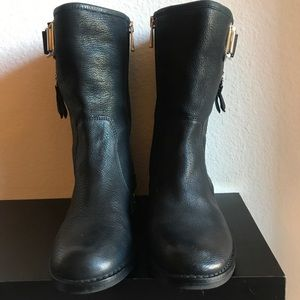 Motor Leather Boots